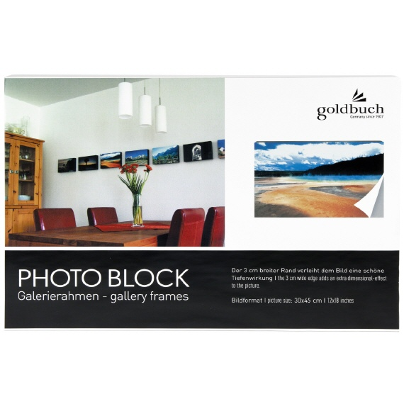 Goldbuch photo block wit 900128